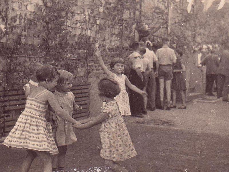 Gartenfest 1958: Kinderspiele
